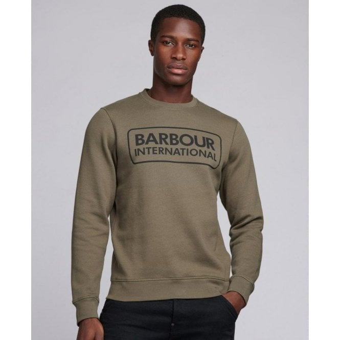 Barbour International Large Logo Sweater