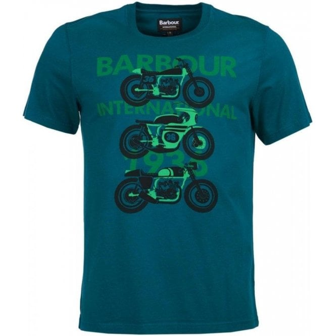 Barbour International Tri Bike Tee