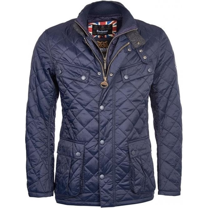 Barbour International Windshield Tailored Fit Quilted Jacket