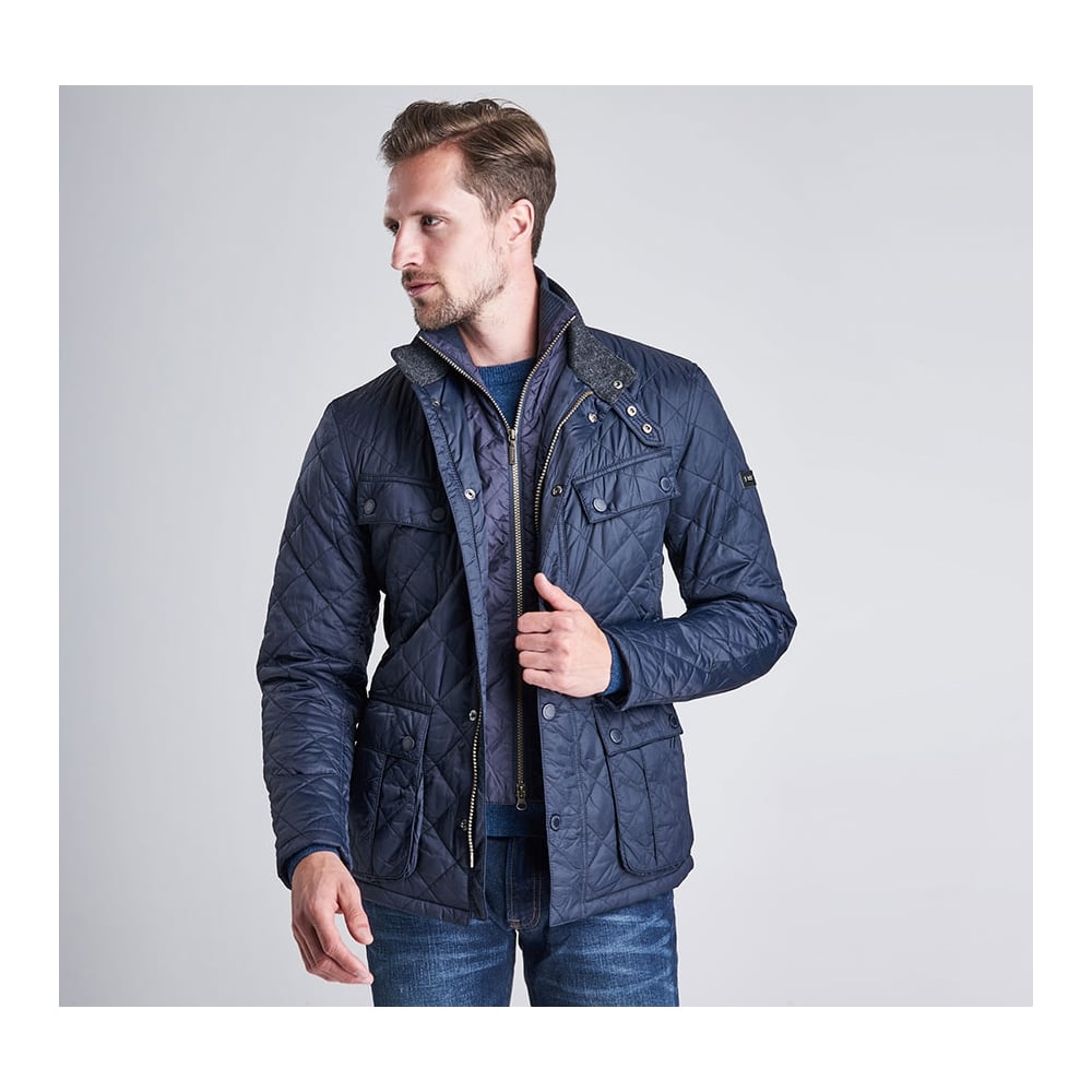 Barbour International Windshield Tailored Fit Quilted