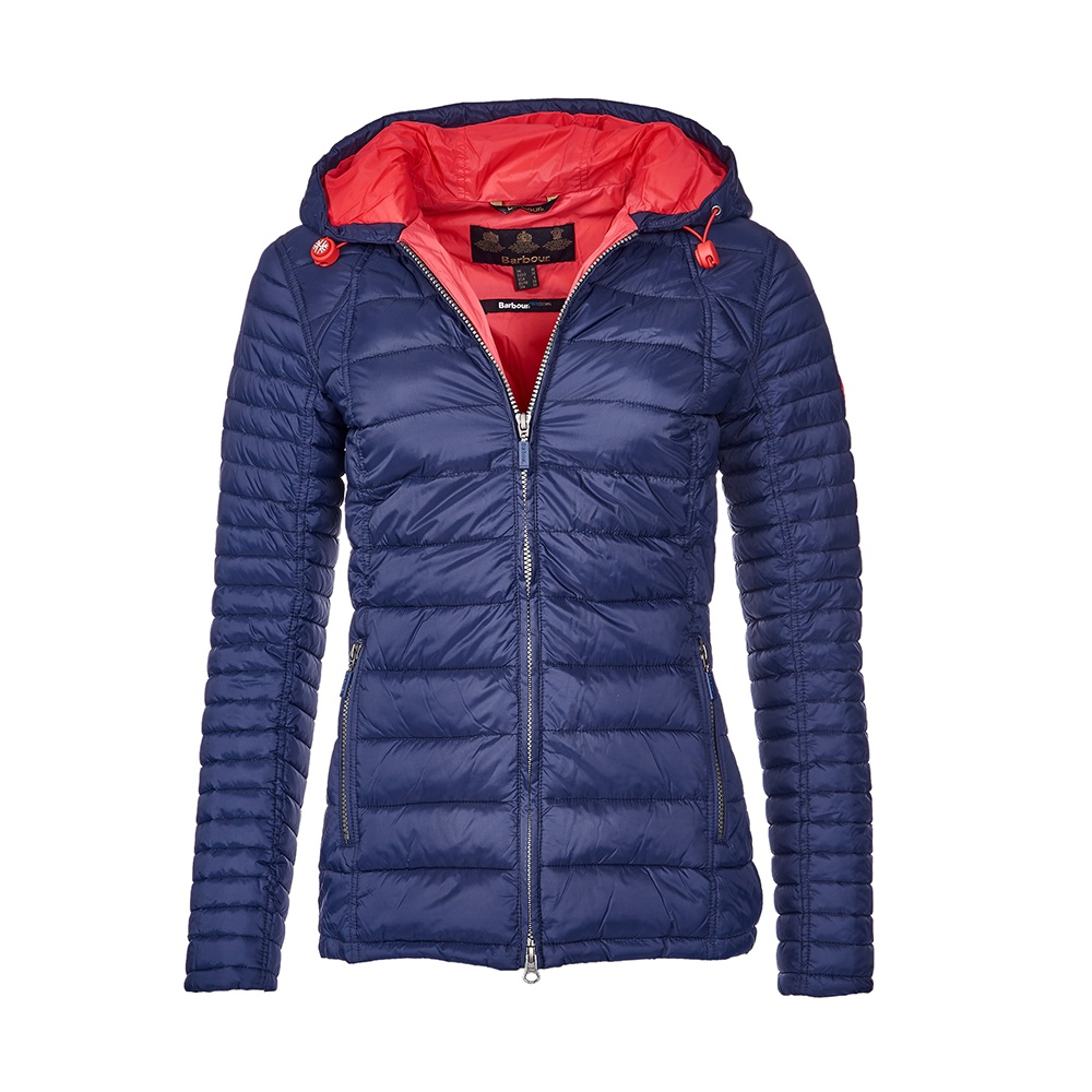 Barbour Landry Baffle Quilted Jacket Women Latest