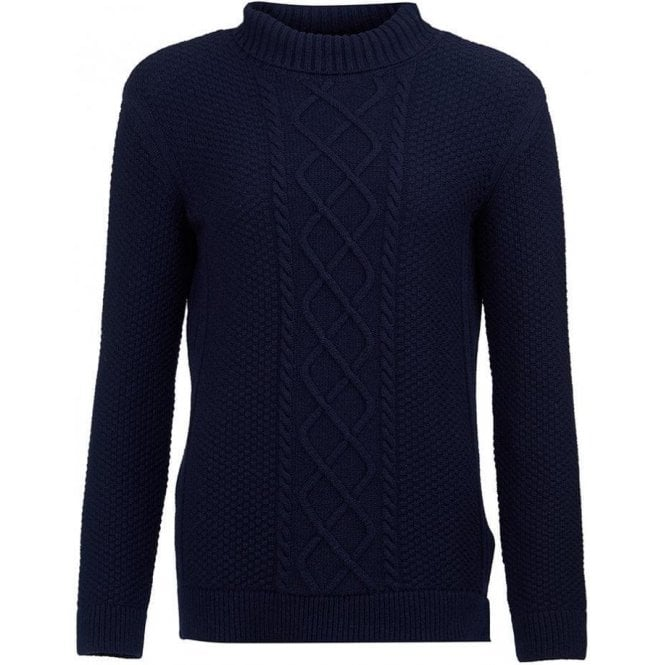 Barbour Leith Roll Collar Knitted Jumper