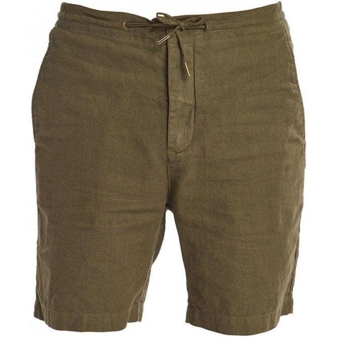 Barbour Linen Mix Shorts