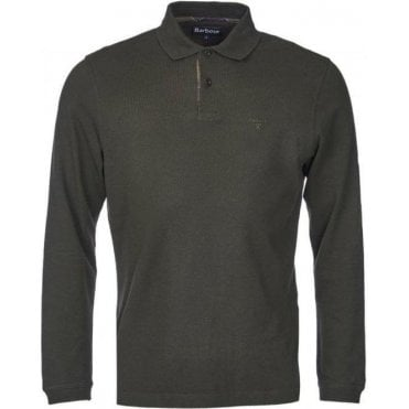 Long-Sleeved Sports Polo