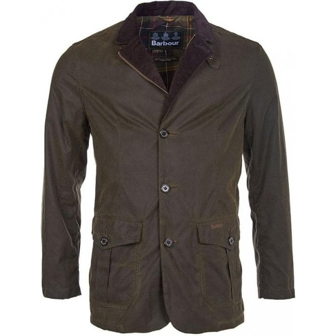 Barbour Lutz Wax Jacket