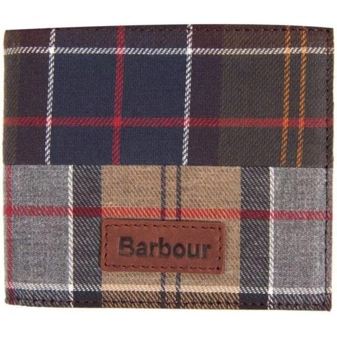 Barbour Mixed Tartan Billfold Wallet