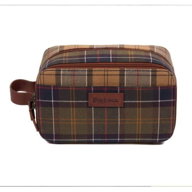 Barbour Mixed Tartan Wash Bag
