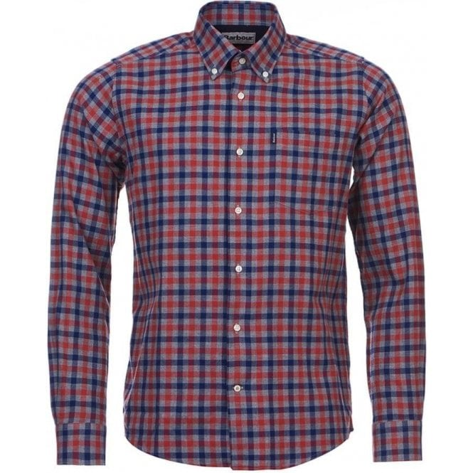 Barbour Moss Country Check Tailored