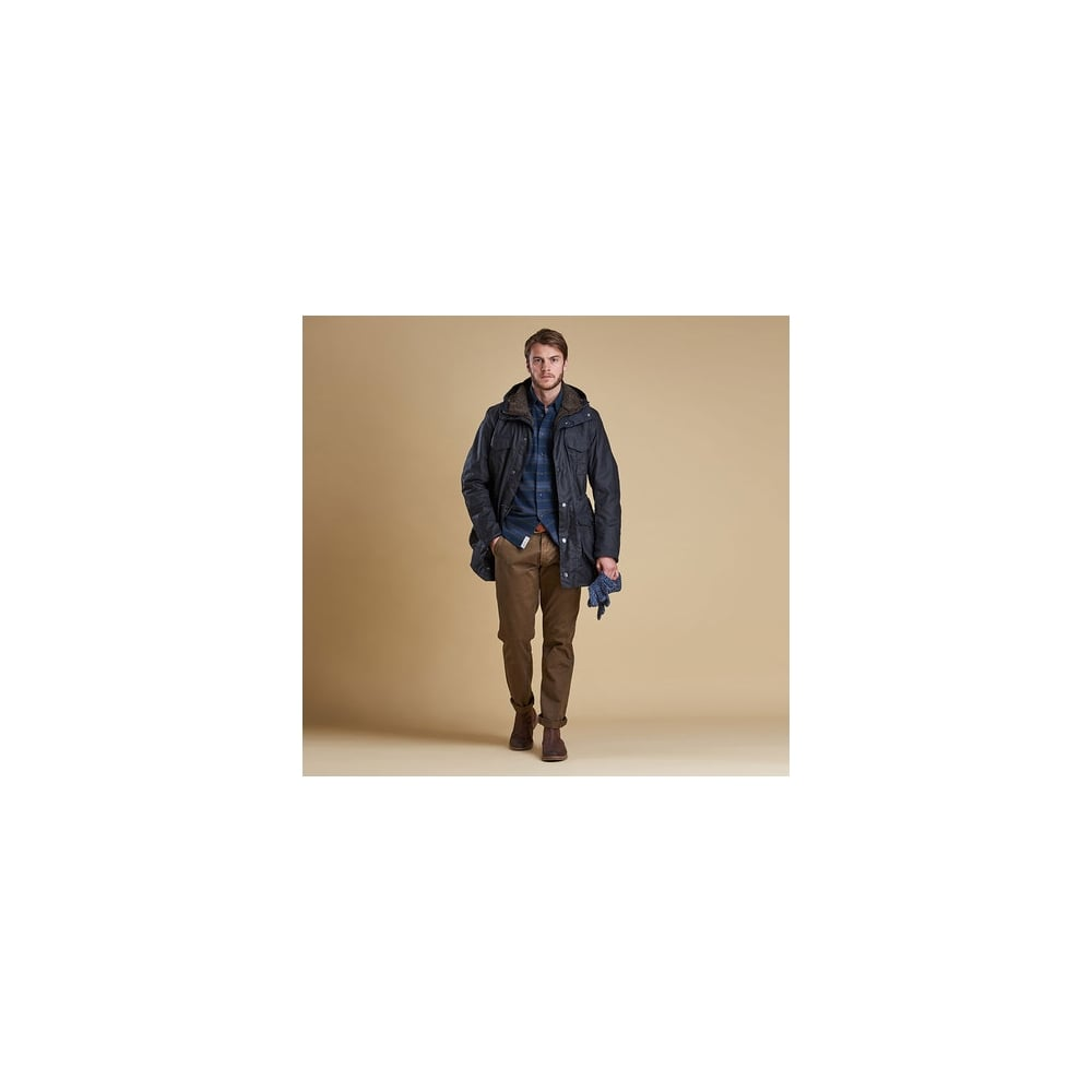 Barbour Oakum Wax Jacket - Men Latest Products Available Online: O&C ...