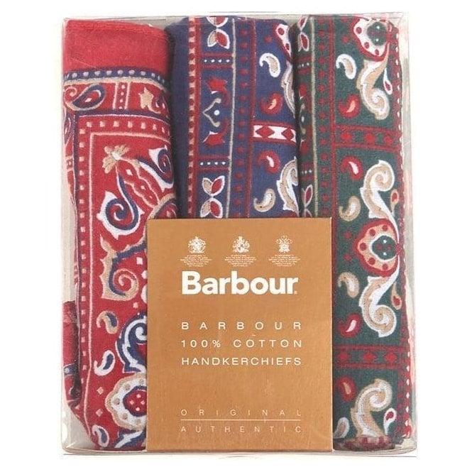 Barbour Paisley Handkerchiefs - Boxed Set