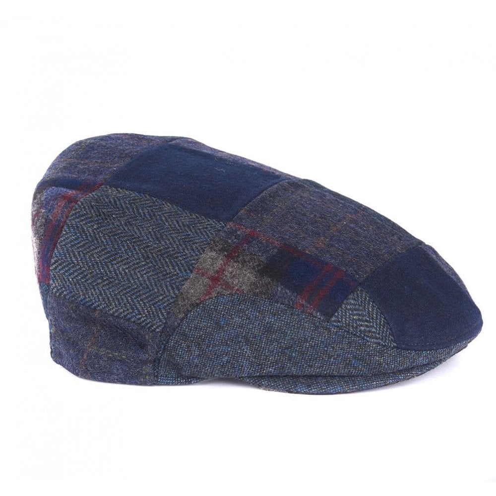 Barbour Patchwork Flat Cap - Mens Hats  O C Butcher 69582eddab2
