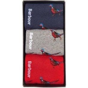 Pheasant Sock Gift Box Set