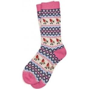 Robin Fairisle Socks