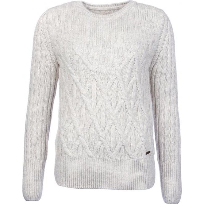 Barbour Safflower Cable Knit Jumper