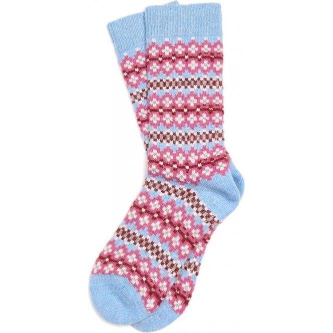 Barbour Seaton Fairisle Socks