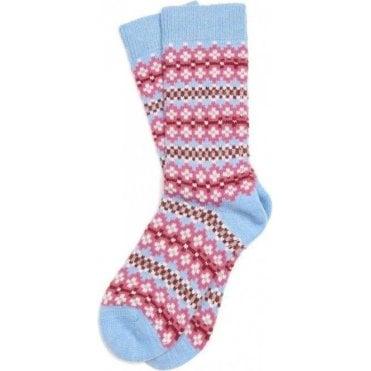 Seaton Fairisle Socks