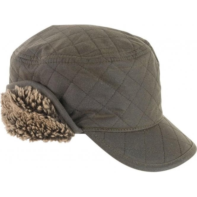 Barbour Stanhope Waxed Trapper Hat