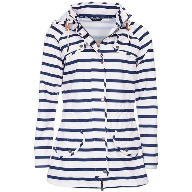 Barbour Stripe Trevose Waterproof Jacket