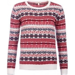 Tarn Fairisle Crew Neck Sweater
