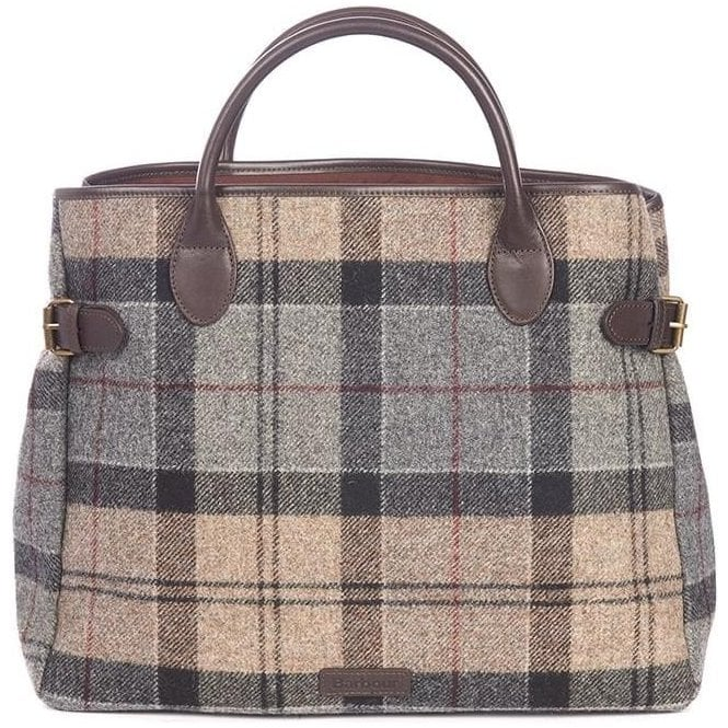 Barbour Tartan Business Bag