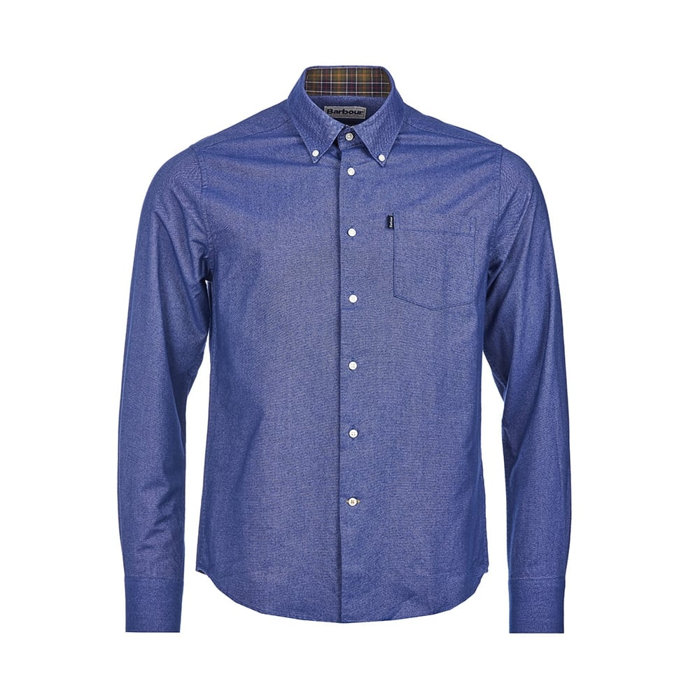 Barbour the oxford shirt tailored fit shirt mens shirts for Tailored shirts for men