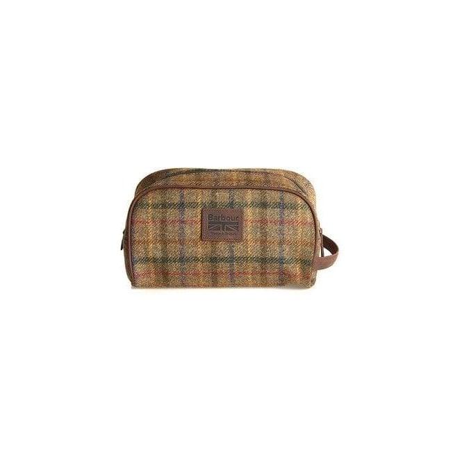 Barbour Tweed Wash Bag
