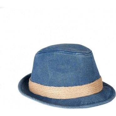 Washed Cotton Trilby