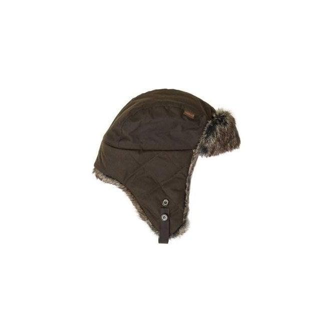 Barbour Wax Grasmere Trapper Hat