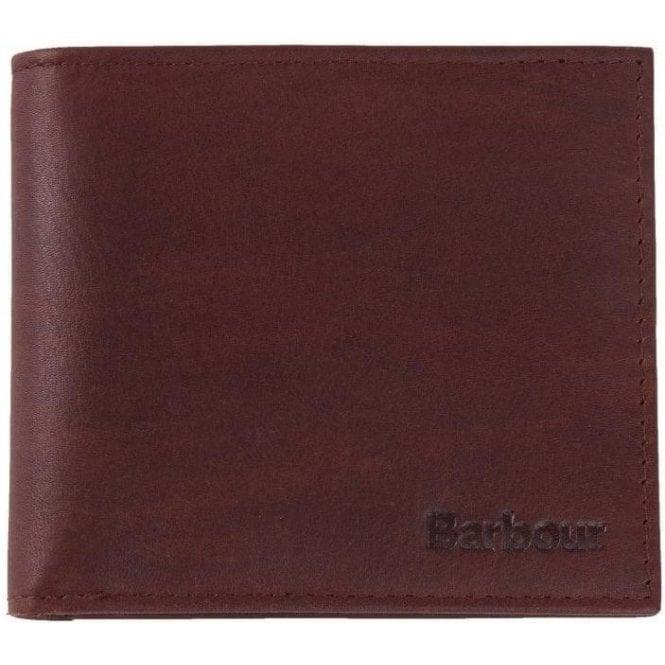 Barbour Wax/Leather Billfold Wallet