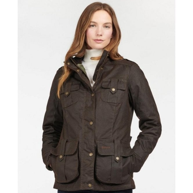 Barbour Winter Defence Waxed Cotton Jacket