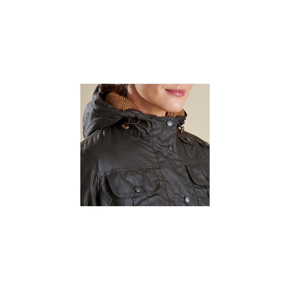c71063e51e Winter Force Parka Waxed Jacket - Barbour Women s Jackets  O C Butcher