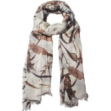 ASIAN GARDEN Cotton/Modal scarf