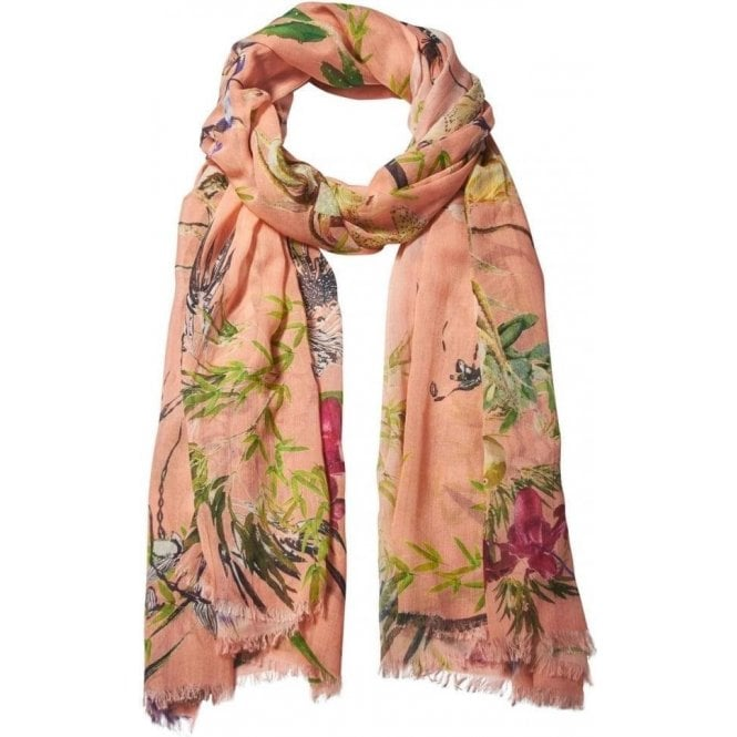 Bella Ballou ASIAN GARDEN Cotton/Modal scarf