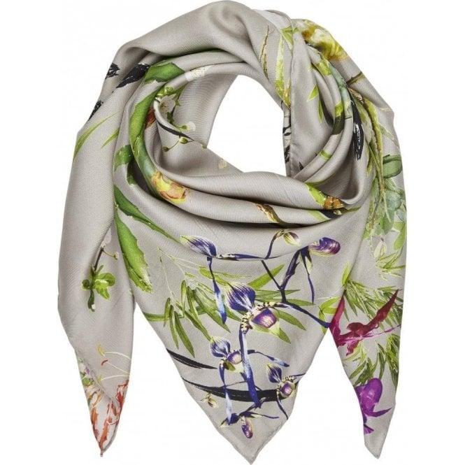 Bella Ballou ASIAN GARDEN silk scarf