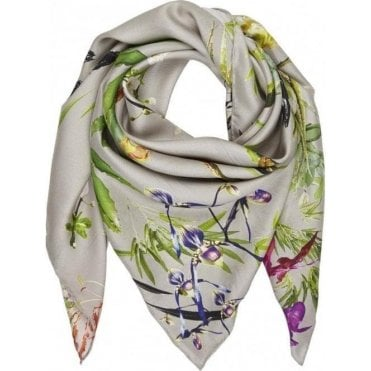 ASIAN GARDEN silk scarf