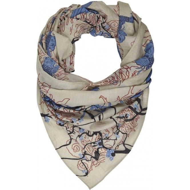 Bella Ballou BLOSSOM cotton scarf