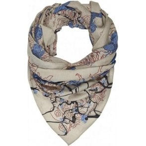 BLOSSOM cotton scarf