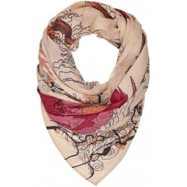 BLOSSOM cotton scarf