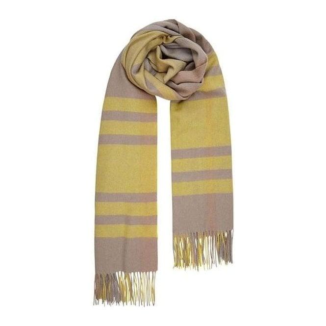 Bella Ballou CHECK IT OUT wool scarf