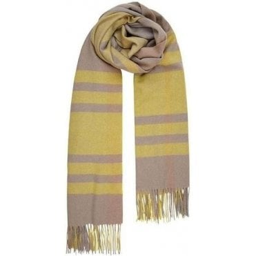 CHECK IT OUT wool scarf