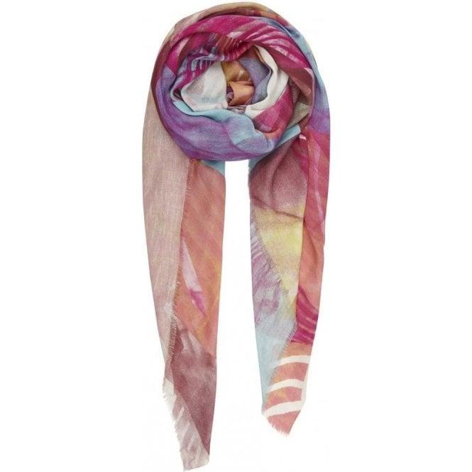 Bella Ballou CROSS SECTION cotton/linen scarf