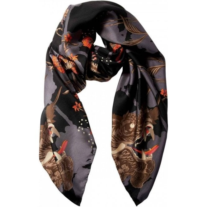 Bella Ballou DRAGON EYE silk scarf