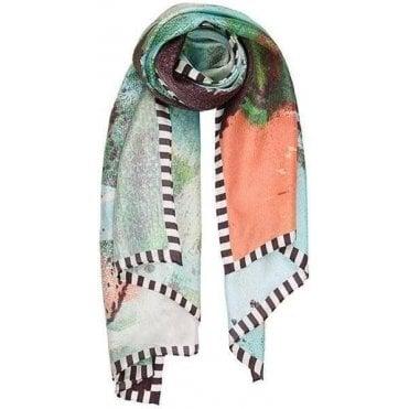 FACE IT silk scarf