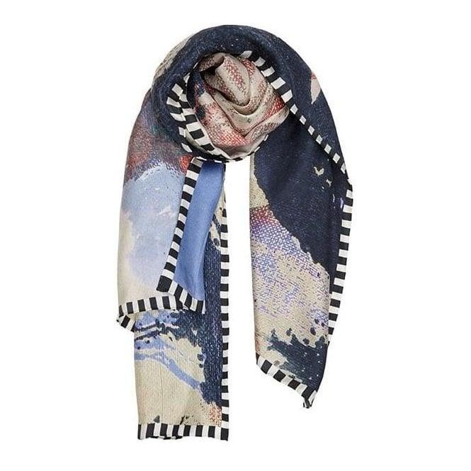 Bella Ballou FACE IT silk scarf