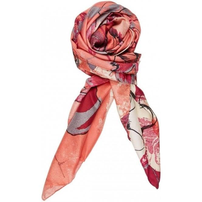 Bella Ballou FLOWER ME SOFTLY silk scarf
