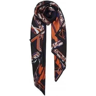 GLAZIER silk scarf