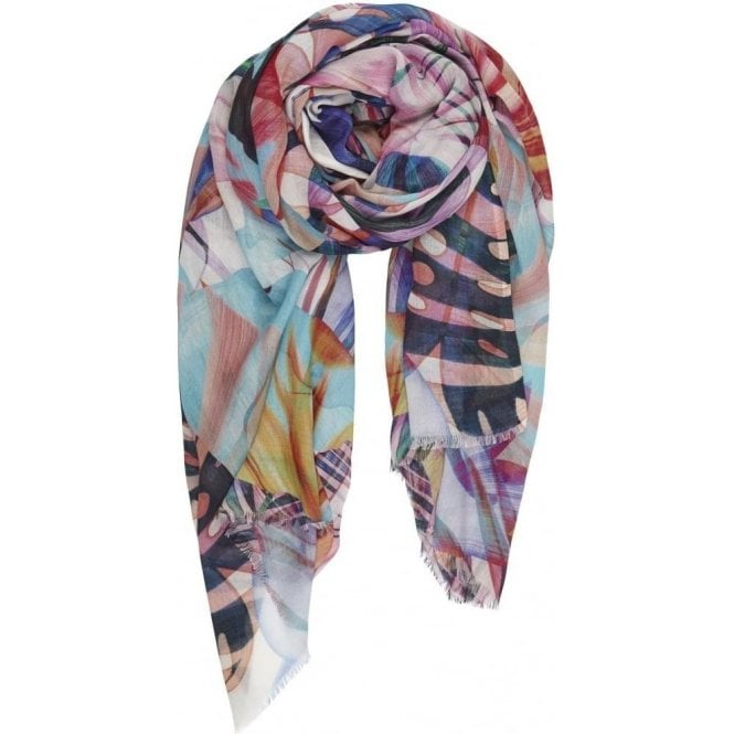 Bella Ballou JUNGLE cotton/modal scarf