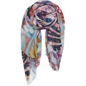 JUNGLE cotton/modal scarf