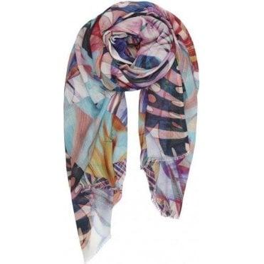 JUNGLE cotton/modal scarf