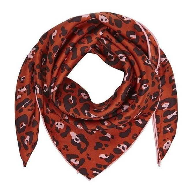 Bella Ballou LEO small silk scarf